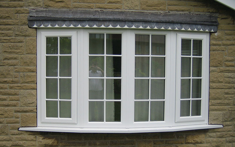 White Bow Windows