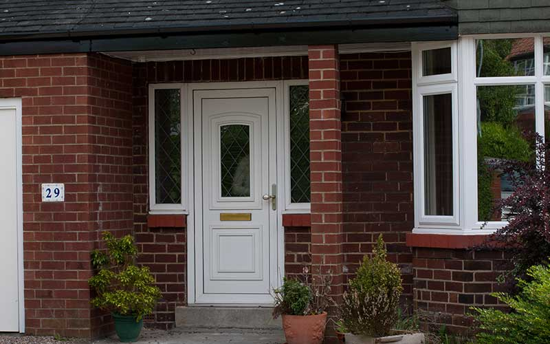 Upvc front doors in london south east albion windows for Upvc front doors for sale