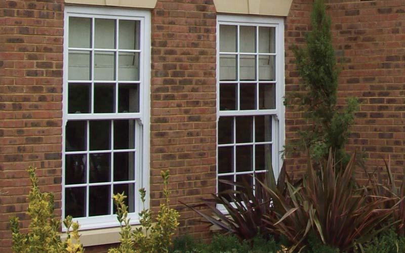 Vertical sliding sash windows London