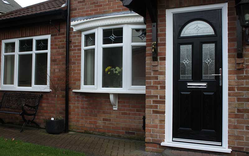 Black Composite Door ... & Composite Doors in London \u0026 South East | Albion Windows Pezcame.Com