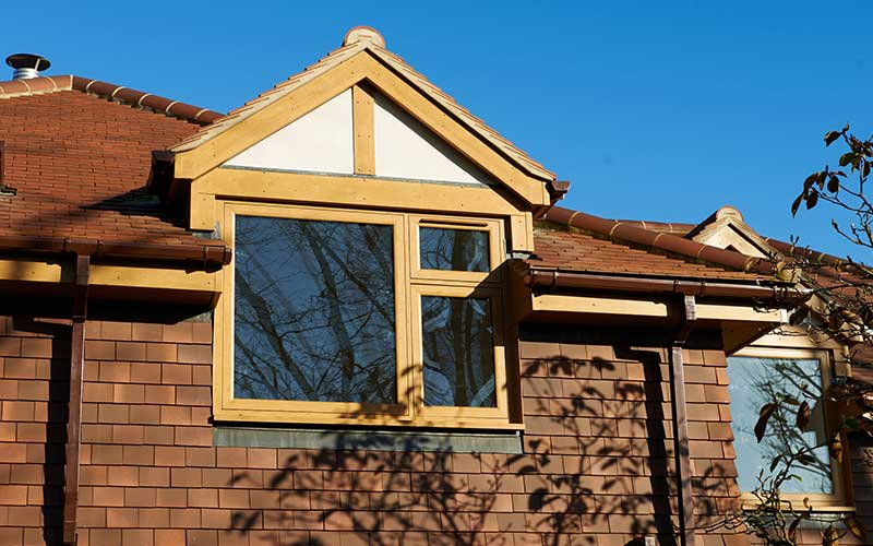 Double glazed flush windows