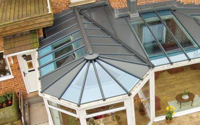 Livin roof conservatory
