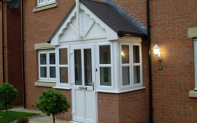 Porches in london south east albion windows for Porch windows and doors
