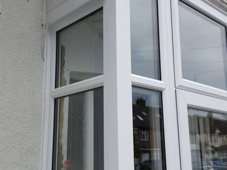 uPVC bay windows installed in Croydon property