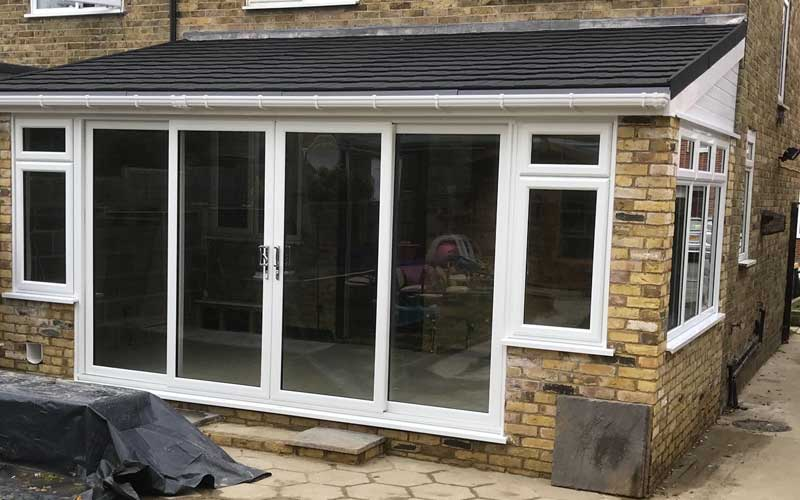Supalite roof replacement installation by Albion Windows
