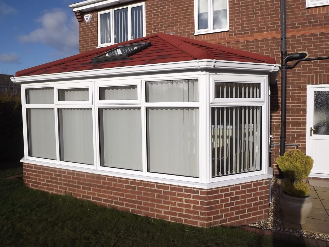 Tiled Conservatory Roof Mitcham