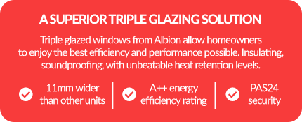 Benefits of triple glazing